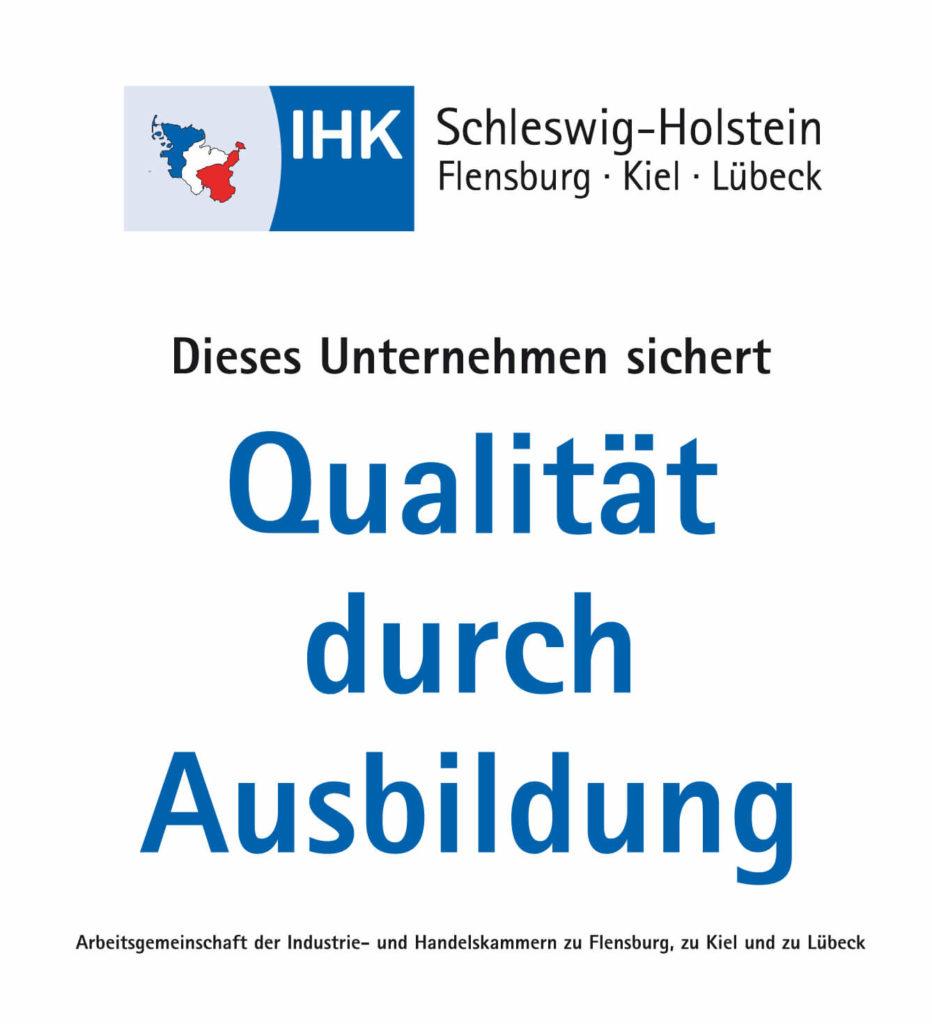 Zertifizierter IHK - Ausbildungsbetrieb